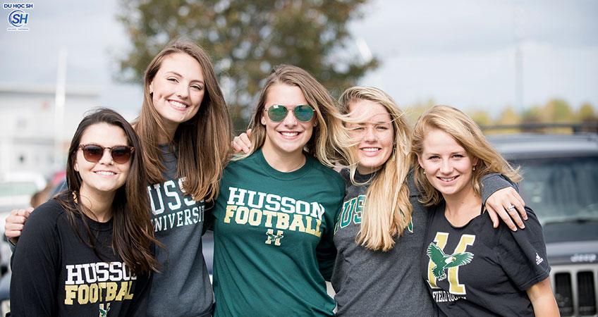 Đại học Husson - Đại học điển hình kiểu Mỹ