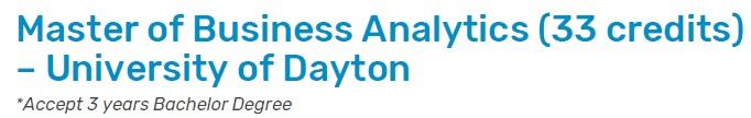 mba businessanalytic