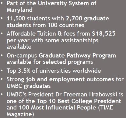số liệu thống kê umbc